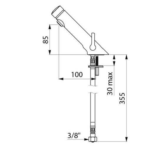 Technical drawing QS-V106811 / 742510