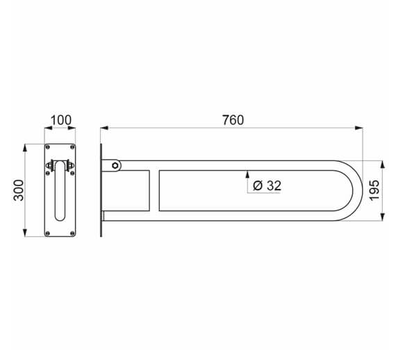 Technical drawing QS-V106049 / 511516W
