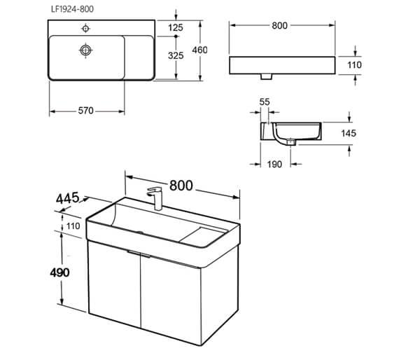 Technical drawing QS-V96480 / FZHM2785-600-Q0002