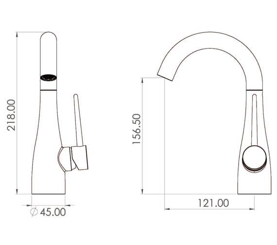 Technical drawing QS-V104690 / ED001