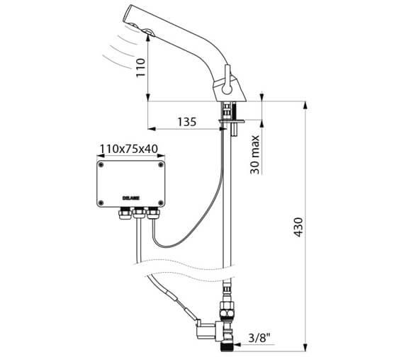 Technical drawing QS-V106771 / 378MCHB