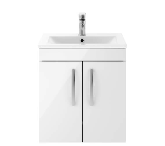 Nuie Athena 2 Door Wall Hung Vanity Unit With Basin