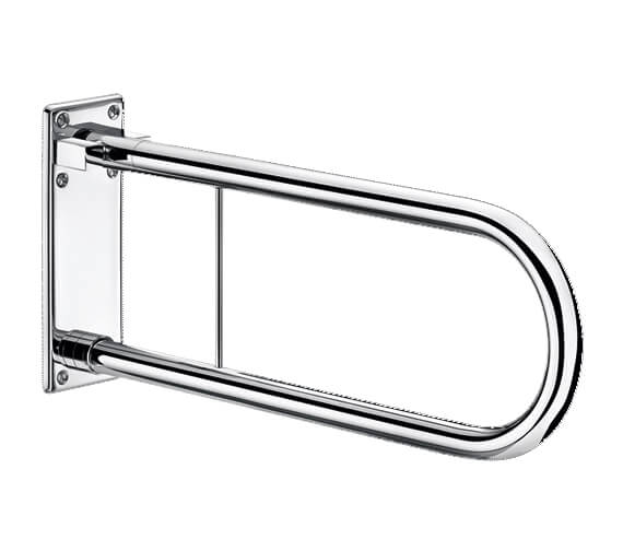 Delabie 650mm Stainless Steel Movable Drop Down Rail