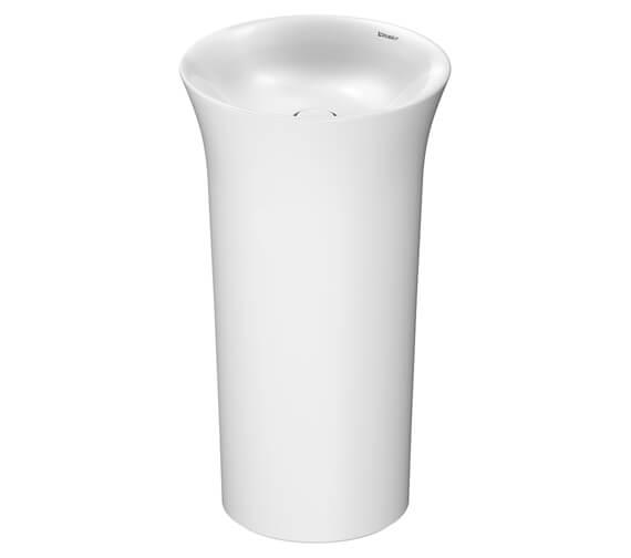 Additional image of Duravit White Tulip 500mm Freestanding Washbasin