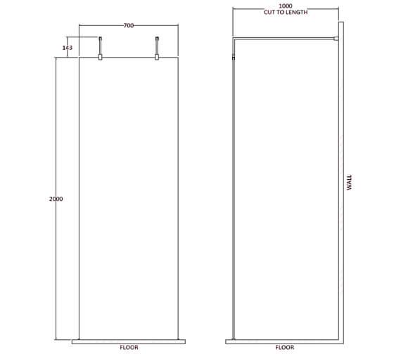 Technical drawing QS-V100429 / BBPAF070