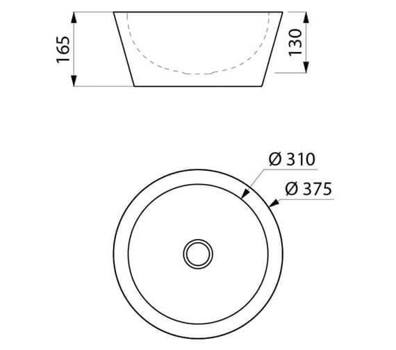 Technical drawing QS-V106721 / 120110