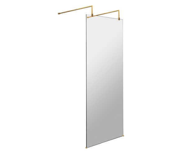 Hudson Reed Freestanding Wetroom Screen With Arms And Feet