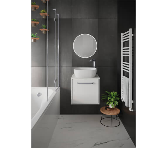 Additional image of Crosswater Infinity 500mm Wide Wall Mounted Vanity Unit