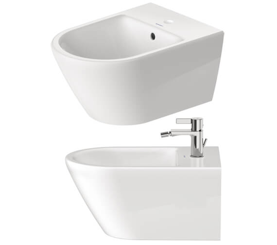 Alternate image of Duravit D-Neo 540mm Projection Wall Mounted Bidet
