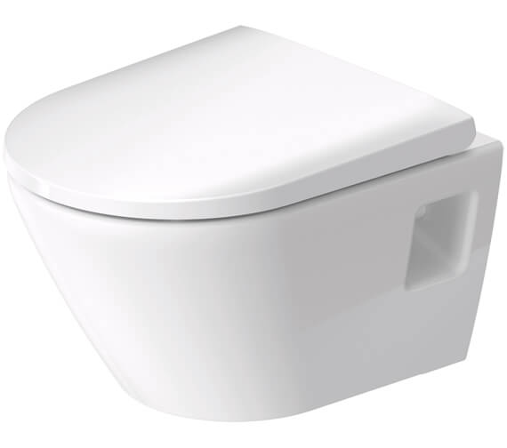 Duravit D-Neo Compact Wall Mounted Rimless WC Pan