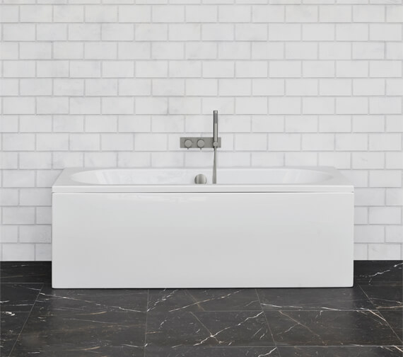 Crosswater Verge Double Ended Bath Tub