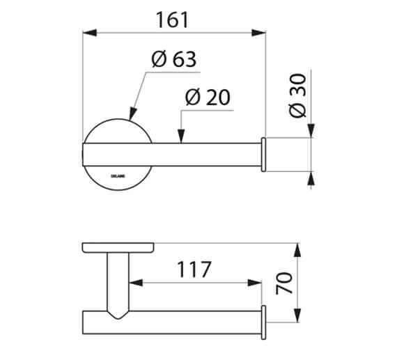 Technical drawing QS-V106733 / 510083P