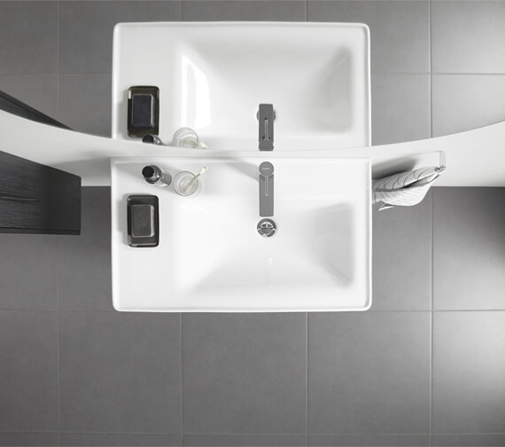 Duravit D-Neo Two Drawer Wall Mounted Vanity Unit For D-Neo Basin