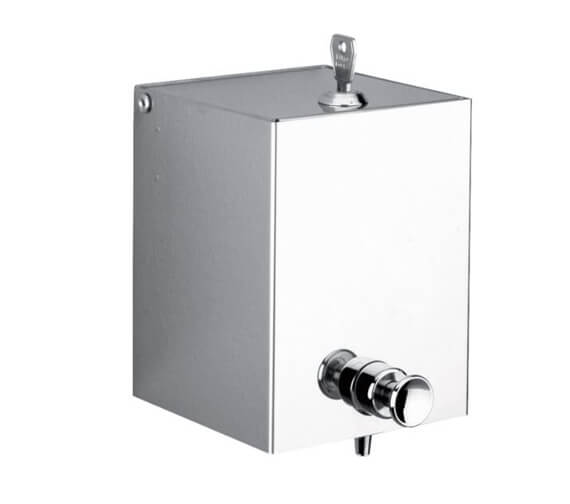 Delabie Stainless Steel Wall Mounted Liquid Soap Dispenser