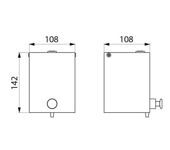 Technical drawing QS-V106060 / 6583