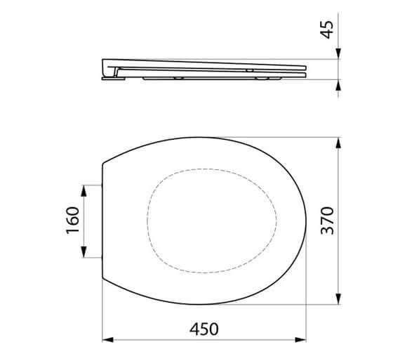Technical drawing QS-V106729 / 102419