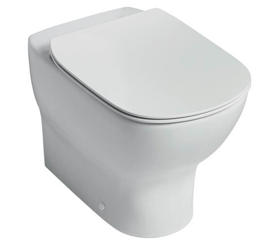 Alternate image of Ideal Standard Tesi Back to Wall Toilet With Aquablade Technology