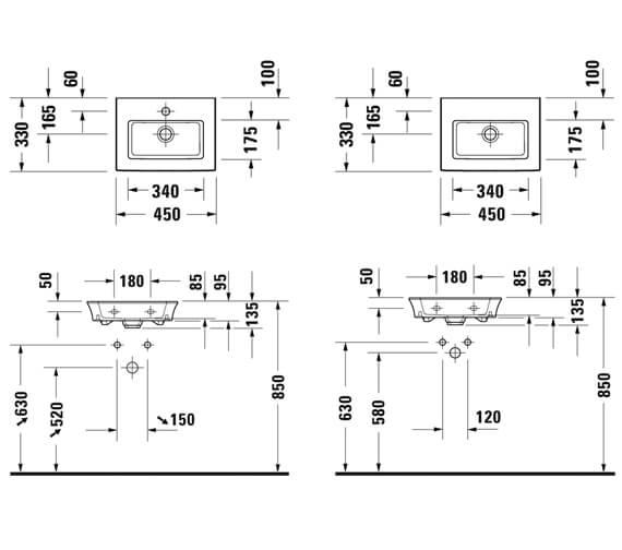 Technical drawing QS-V98192 / 0737450041