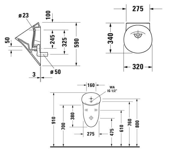 Technical drawing QS-V98199 / 2817300000