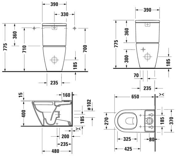Technical drawing QS-V104668 / 2002090000