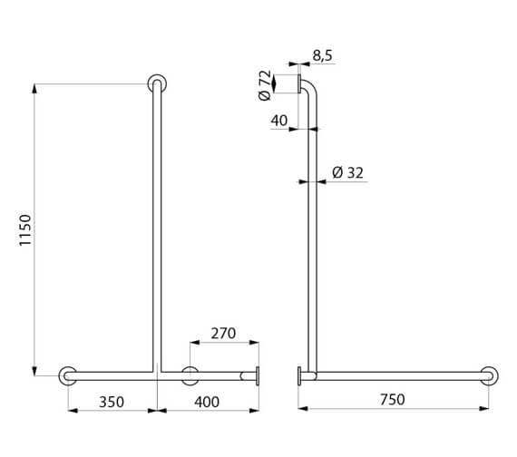 Technical drawing QS-V106065 / 5481GP2