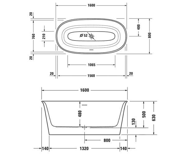 Technical drawing QS-V98200 / 700468000000000