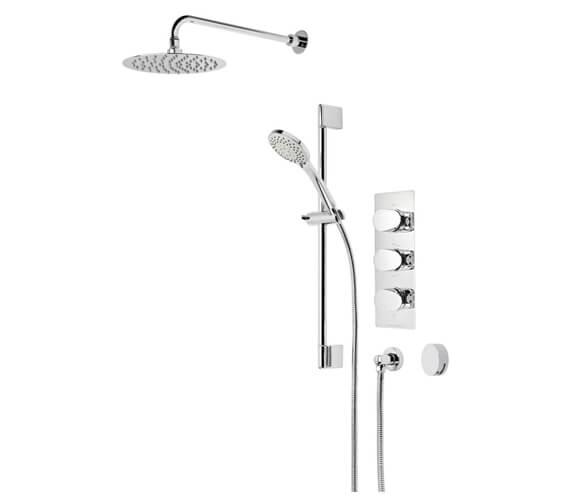 Roper Rhodes Stream Triple Function Shower Set And Smartflow Bath Filler