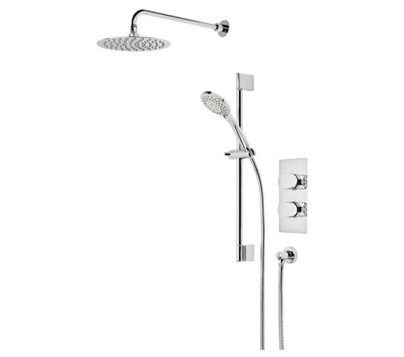 Roper Rhodes Stream Dual Function Shower Set And Fixed Head