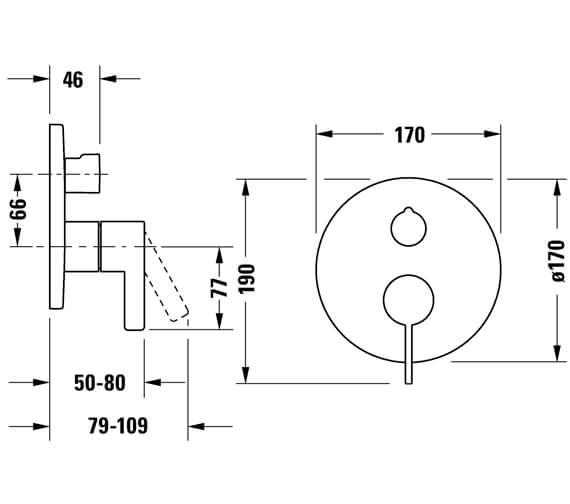 Technical drawing QS-V104669 / DE5210012010