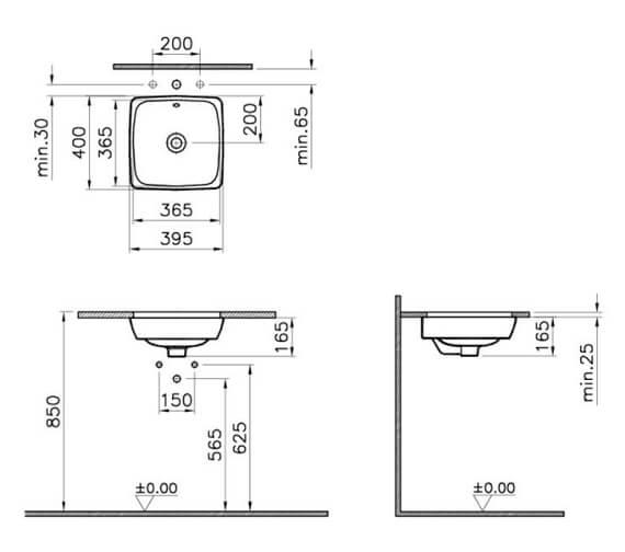 Technical drawing QS-V106842 / 5666B003-1082