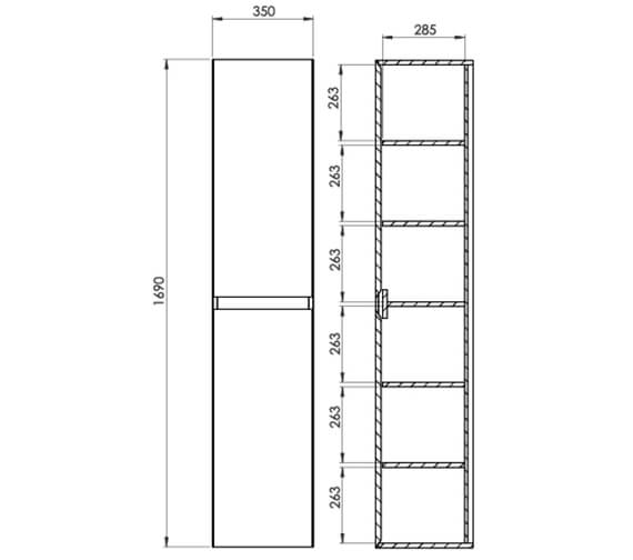 Technical drawing QS-V80994 / UN035S.MW