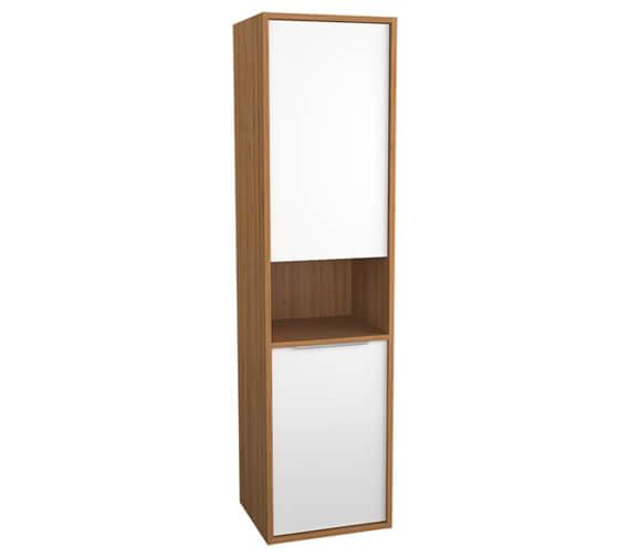 VitrA Integra 1550mm High Tall Unit With Open Shelf