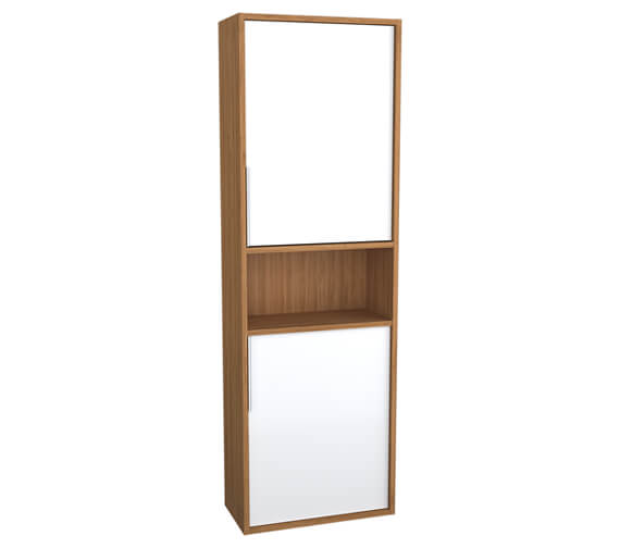 Additional image of VitrA Integra 1550mm High Tall Unit With Open Shelf