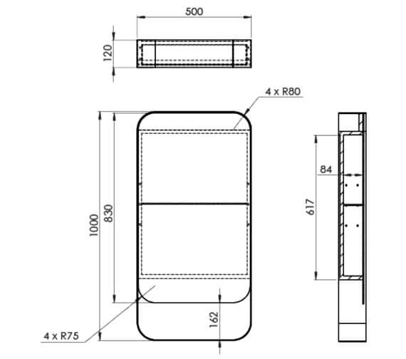 Technical drawing QS-V104784 / VOL050SQCL.MB