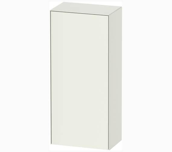 Duravit White Tulip 400mm Wide Single Door Semi Tall Unit