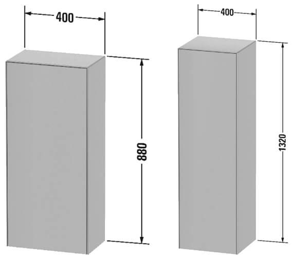 Technical drawing QS-V107343 / WT1322L3636