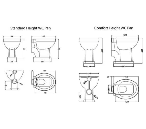 Technical drawing QS-V4912 / CCR022
