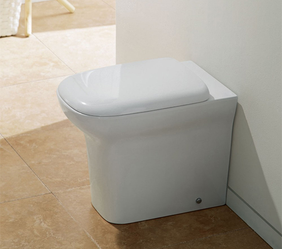 Additional image of IMEX Grace Back To Wall WC Bowl 540mm With Seat