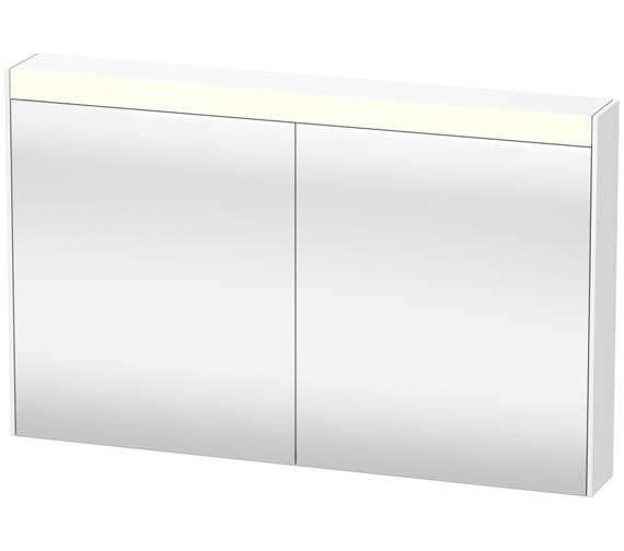 Duravit Brioso 1220 x 760mm Double Door Mirror Cabinet