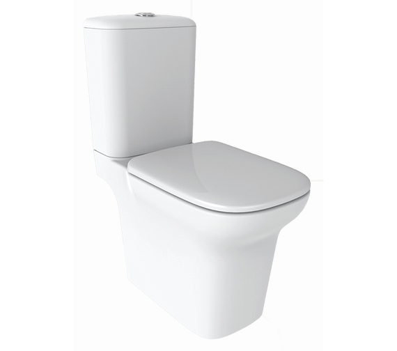 IMEX Grace Open-Back Close Coupled WC Bowl With Cistern And Seat 650mm