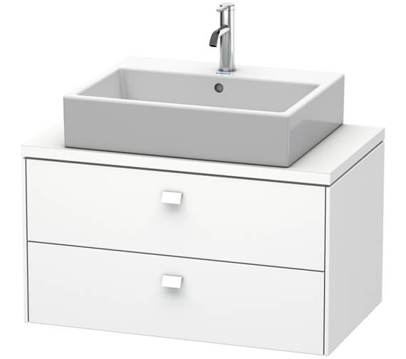 Duravit Brioso 2 Drawer 820mm Compact Vanity Unit For Console