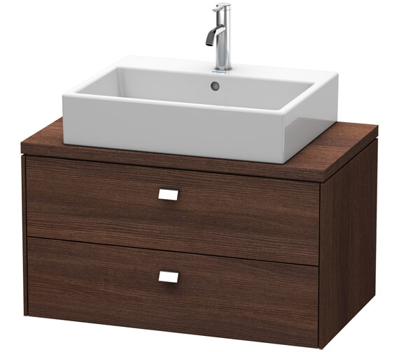 Alternate image of Duravit Brioso 2 Drawer 820mm Compact Vanity Unit For Console