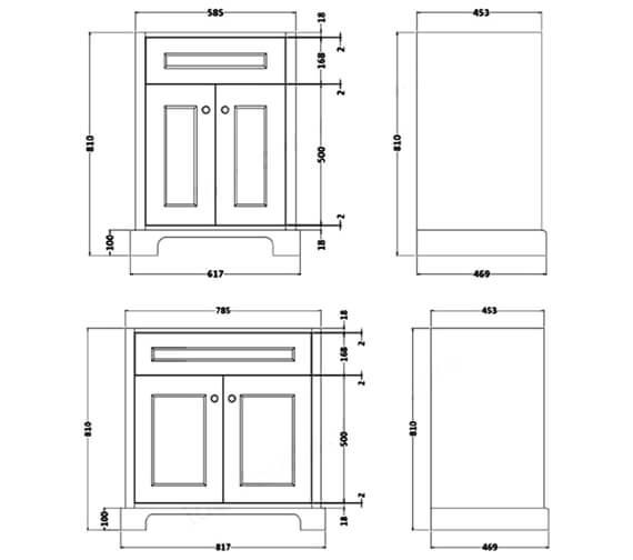 Technical drawing QS-V105561 / RAKWBU60500