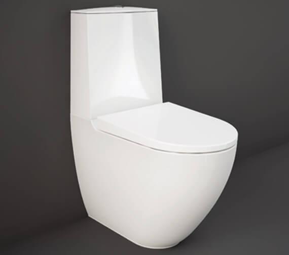 RAK Ceramics Des Rimless Close Coupled Toilet With Touchless Flushing