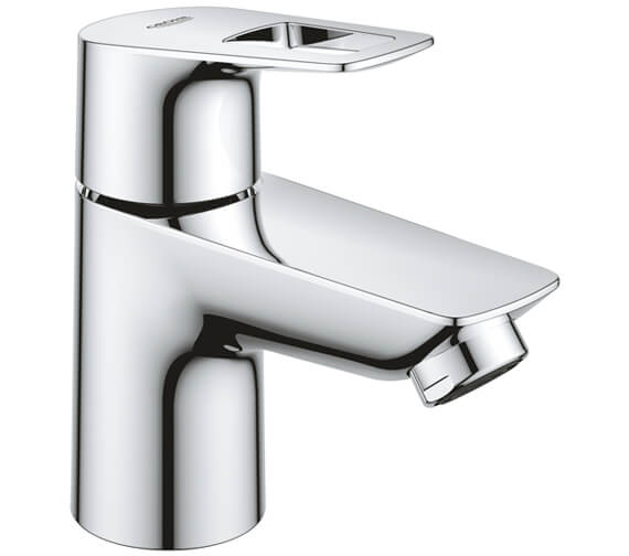 Grohe BauLoop Chrome Basin Pillar Tap