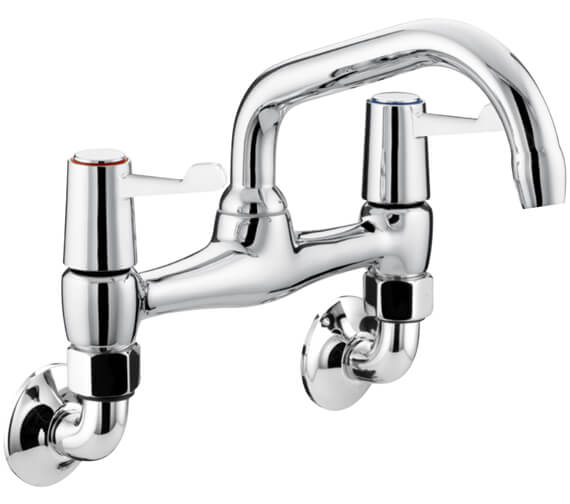 Bristan Value Lever Wall Mounted Kitchen Sink Mixer Tap