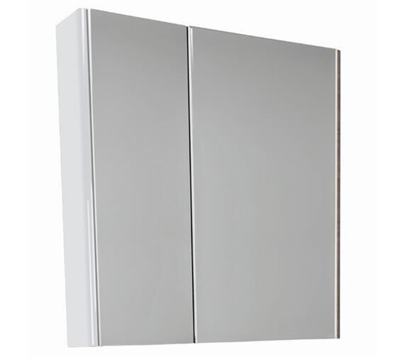 Alternate image of VitrA M-Line 2 Door Bathroom Mirror Cabinet