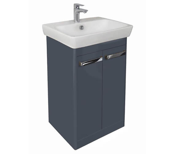 VitrA M-Line Floor Standing 2 Door Wash Basin Unit