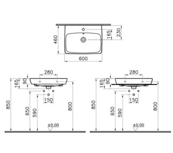 Technical drawing QS-V106861 / 63411