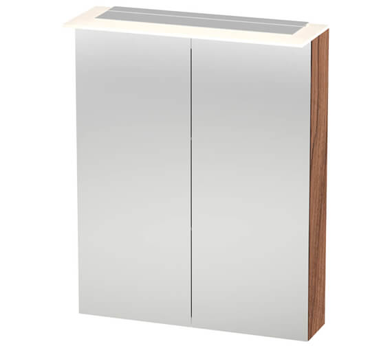 Duravit X-Large 2 Door Mirror Cabinet With LED Lighting